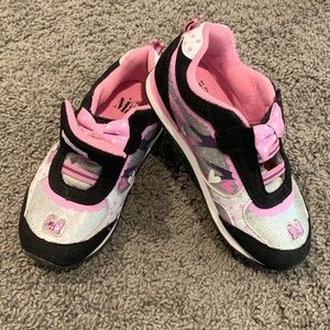 Disney Minnie Mouse girls  light up sneakers